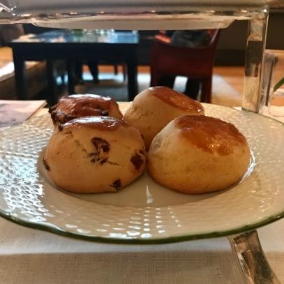 Raisin & plain scones